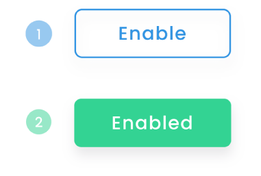 Quickly enable new channels in Emitto with one click